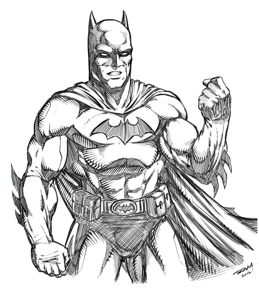 900x1003 Sketch Style Drawing Batman Sketch Style Drawing Batman Batman