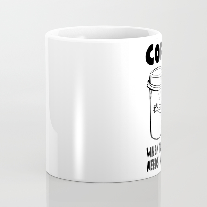 700x700 Coffee When Your Brain Needs A Hug Coffee Mug By Yoyoha Society6