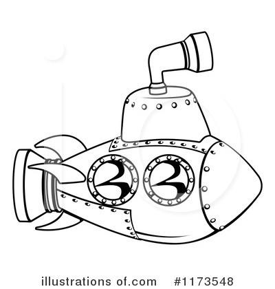 400x420 Submarine Clipart