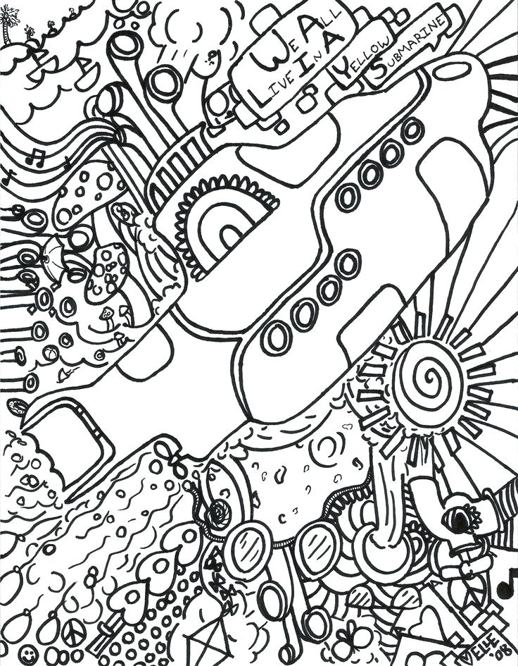 736x945 Submarine Coloring Pages Futuristic Submarine Coloring Page Navy