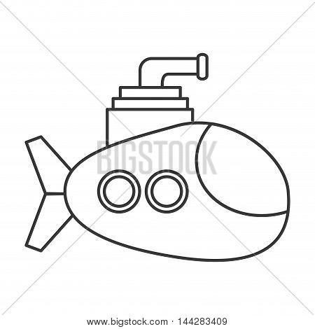 450x470 Flat Design Small Submarine Icon Vector Amp Photo Bigstock