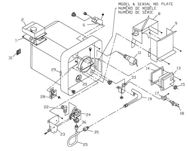 suburban drawing at getdrawings free for personal use suburban Atwood RV Furnace Converter Wiring Diagram 600x482 atwood water heater parts diagram suburban model sw 4 d tune up