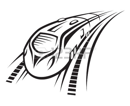 450x368 Rapid Train Royalty Free Cliparts, Vectors, And Stock Illustration