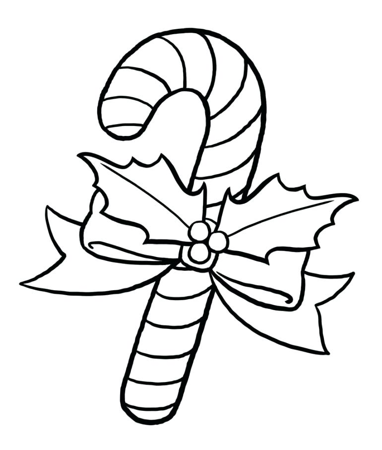 770x907 Candy Cane Print Out Candy Cane Coloring Pages Printable A Candy