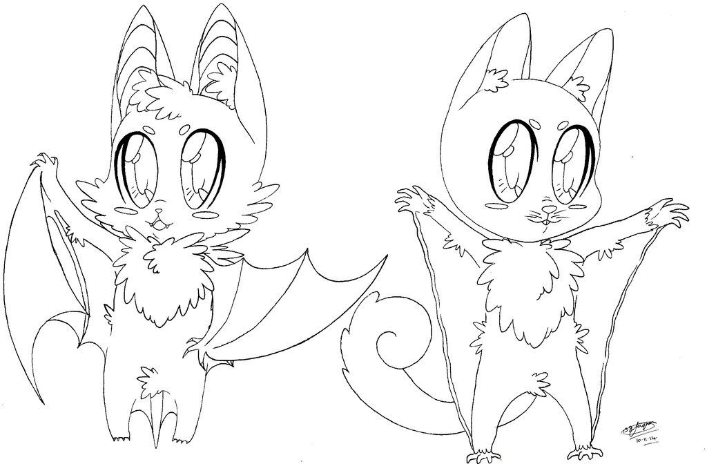 1024x672 Chibi Bat And Sugar Glider! 3 By Shannonxnaruto