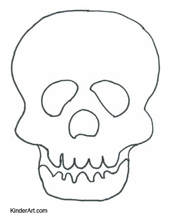 sugar skull drawing template at getdrawings com free for personal