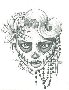 236x307 Miss Sugar Skull