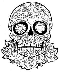 236x282 Sugar Skull New Year Drawings Merry Christmas Amp Happy New Year