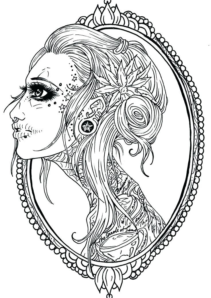 Sugar Skull Tattoo Drawing at GetDrawings.com | Free for personal ...