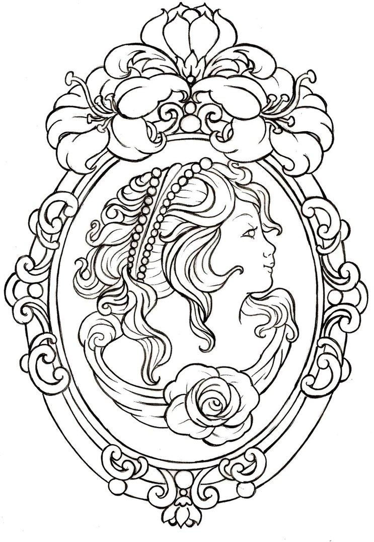 Sugar Skull Woman Drawing at GetDrawings.com | Free for personal use ...