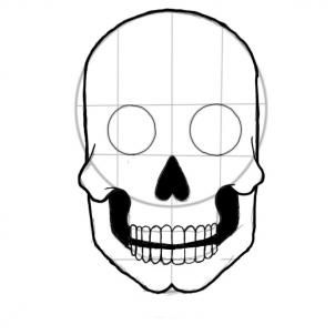 302x302 Photos Sugar Skull Step By Step Drawing,