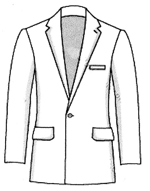 Suit And Tie Drawing