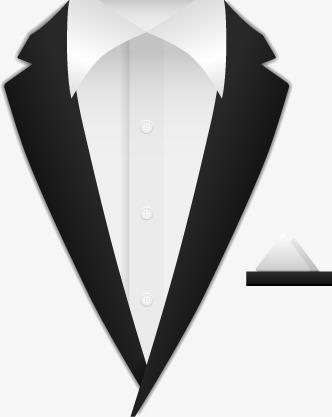 332x417 Men's White Shirt Suit, Decoration, Vector, Men's Suits Png
