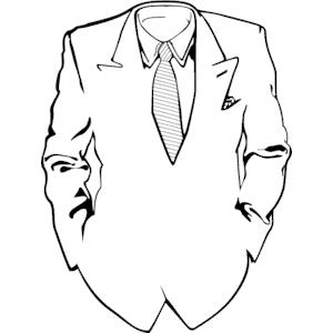 300x300 Suit Tie Clipart, Cliparts Of Suit Tie Free Download (Wmf, Eps