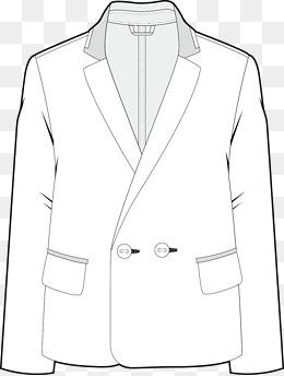 260x344 Suit Vector, Man's Suit, Wedding Dress, Cartoon Hand Drawing Png