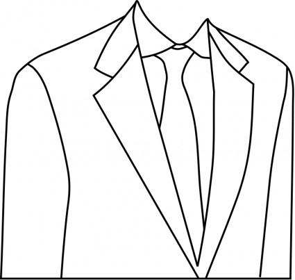 425x403 Suit Drawing