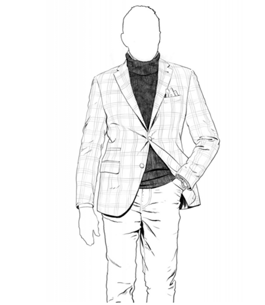 520x598 To Wear A Suit By Luciano Barbera
