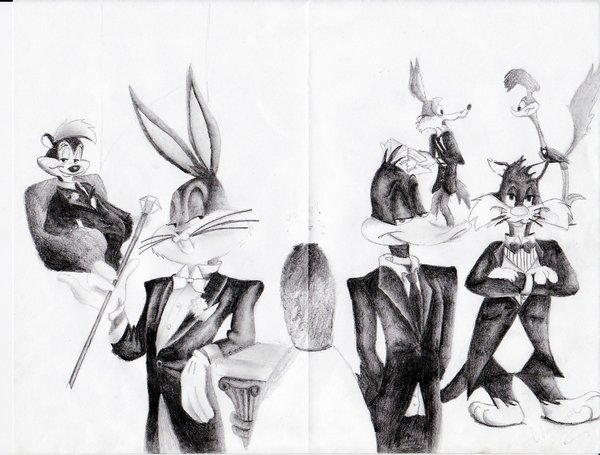 600x455 Looney Tunes Suits By Negxposxreal