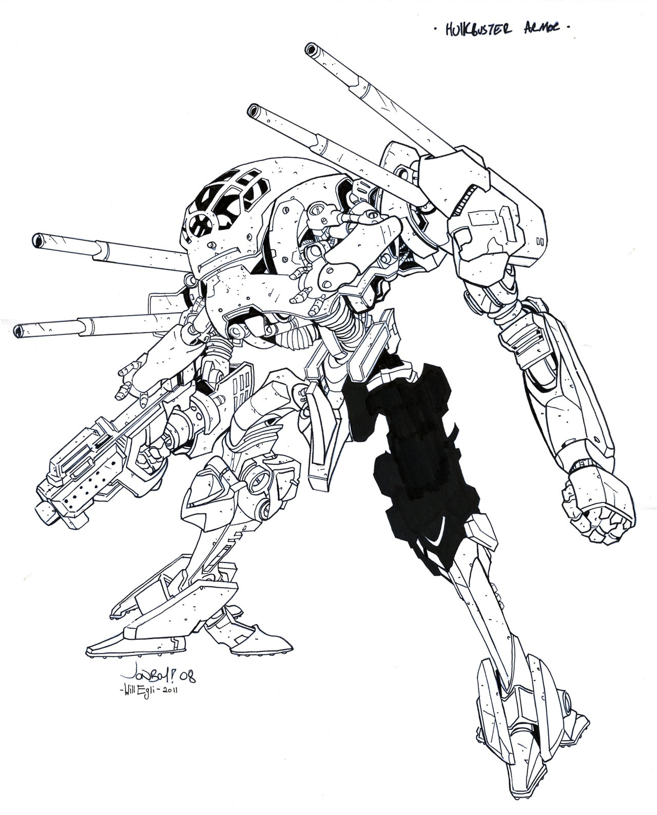 1280x1589 Hulkbuster Armor