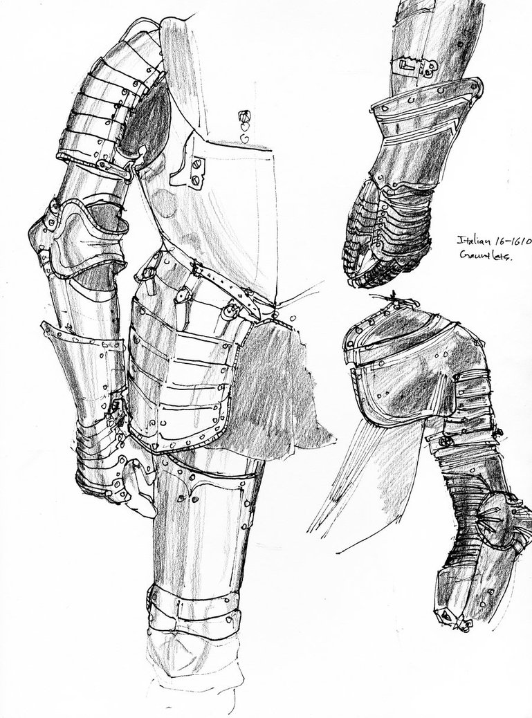 769x1038 Armor Sketches By Dkuang
