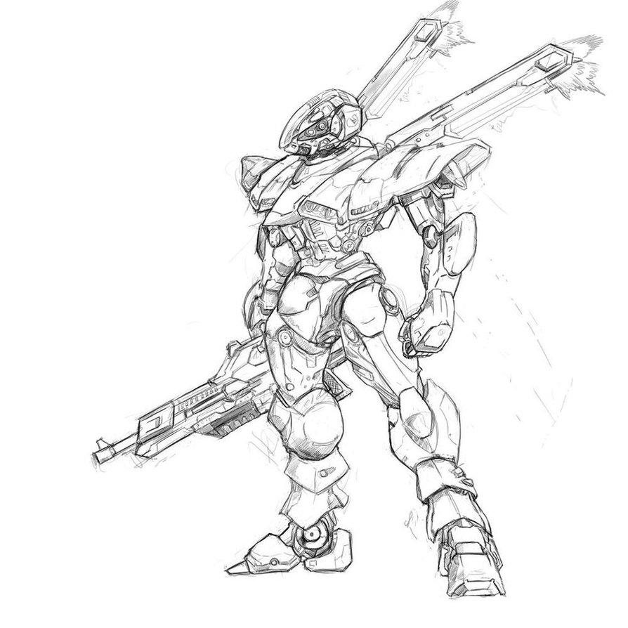 894x894 Drawing Armor
