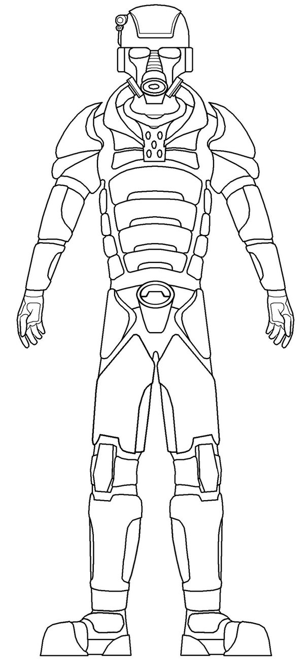 607x1315 Full Body Armor Suit By Tacowrath
