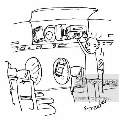 400x412 Hand Luggage Cartoons And Comics