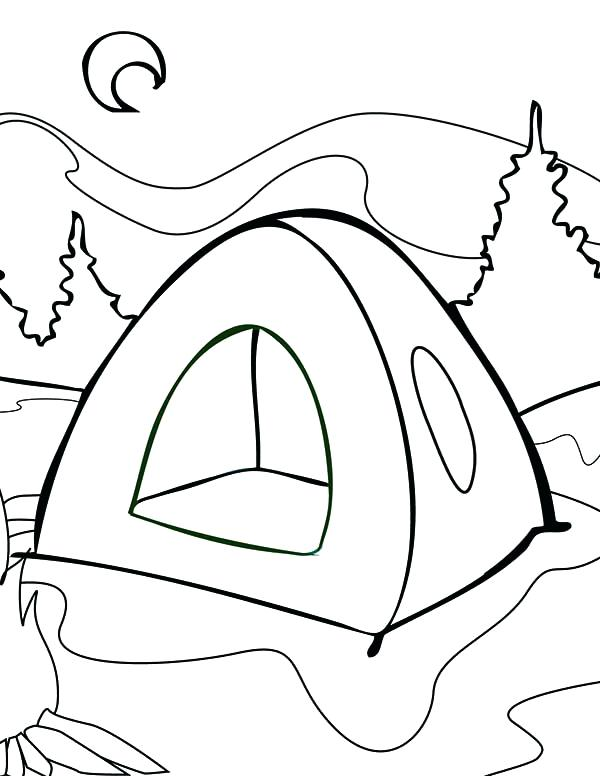 600x776 Summer Camp Coloring Pages Summer Camp Coloring Pictures Convobox.co