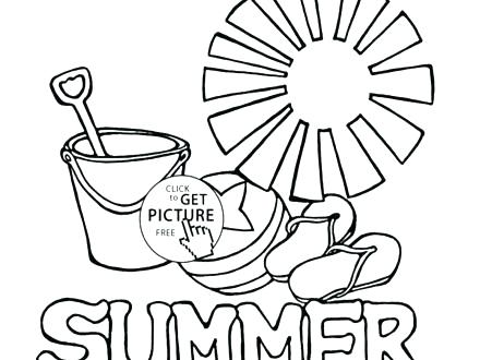 440x330 New Summer Coloring Pages Kids Or Kids Drawing Pages Coloring
