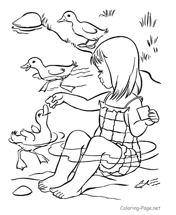 670x820 Summer Coloring Pages For Kids Printable Colouring In Good Draw