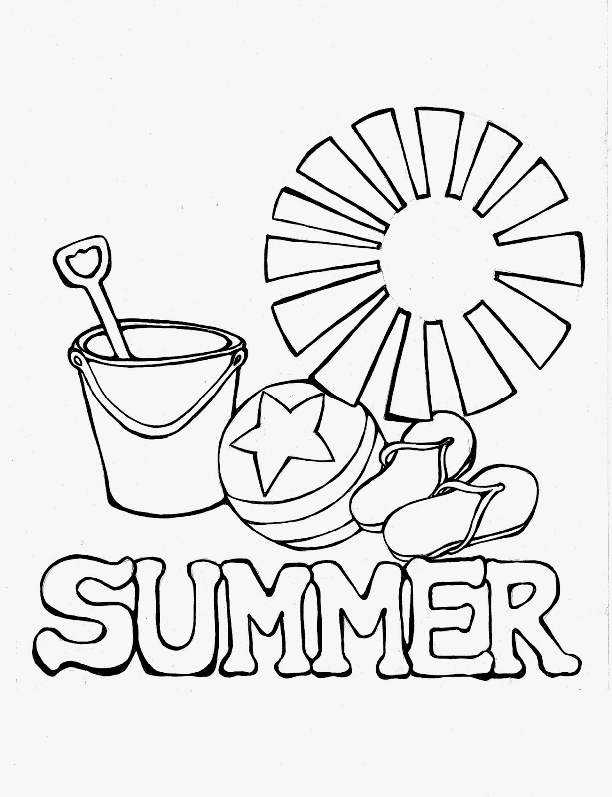 Summer Drawing For Kids at GetDrawings.com | Free for personal use ...