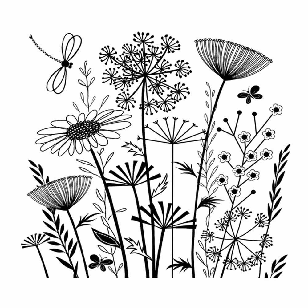 1000x1000 Summer Meadow Tangled, Landscaping And Floral