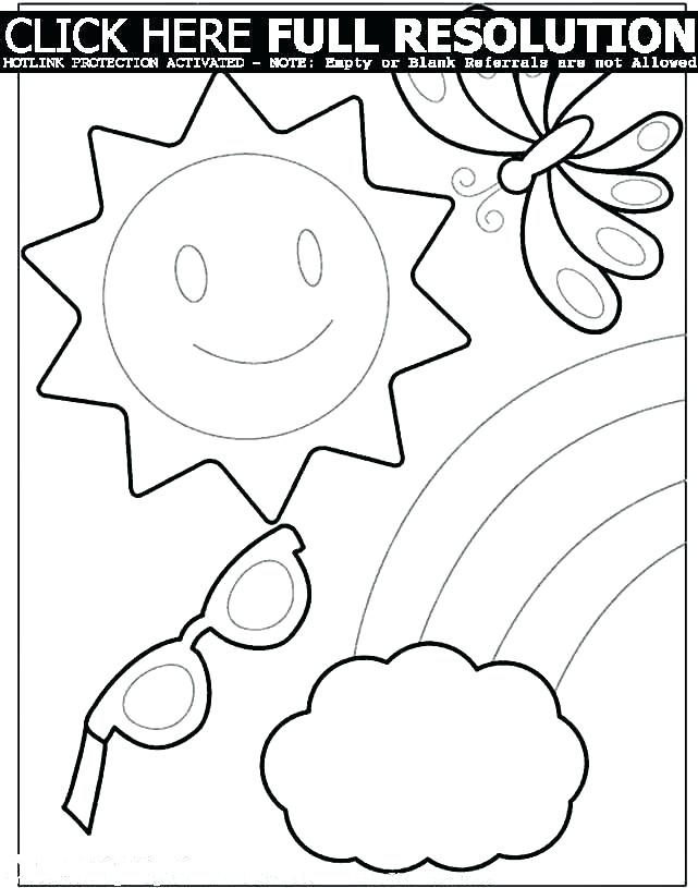 641x815 Printable Beach Coloring Pages Download Sailboat Summer Coloring