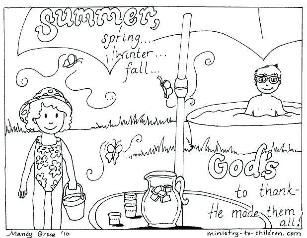 618x480 Printable Summer Coloring Pages To Print Summer Coloring Pages