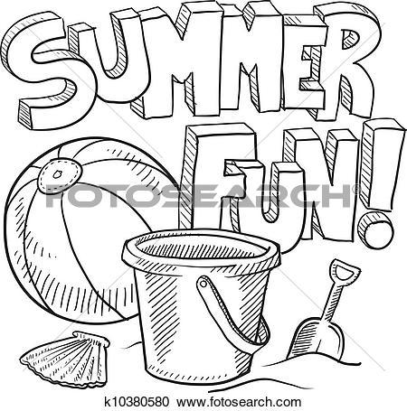 450x455 Sand Castle Clipart Hot Summer Season