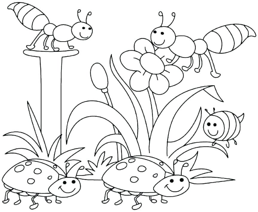 863x708 Season Coloring Pages 5 Best Images Of Spring Season Coloring
