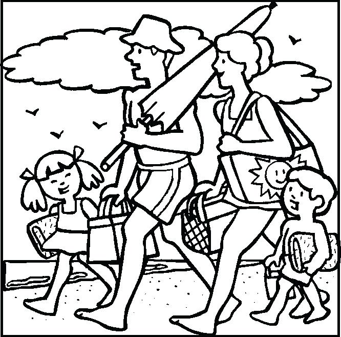 Summer Vacation Drawing at GetDrawings.com   Free for personal use ...
