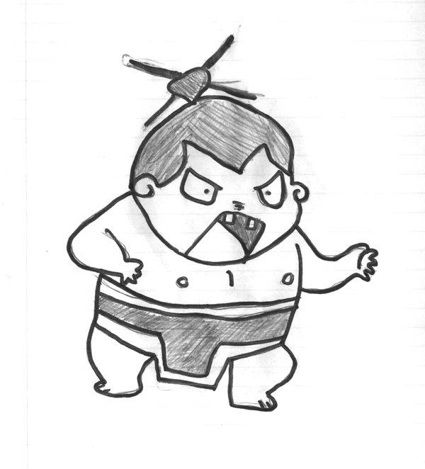 600x662 Chibi Sumo By Ishika2