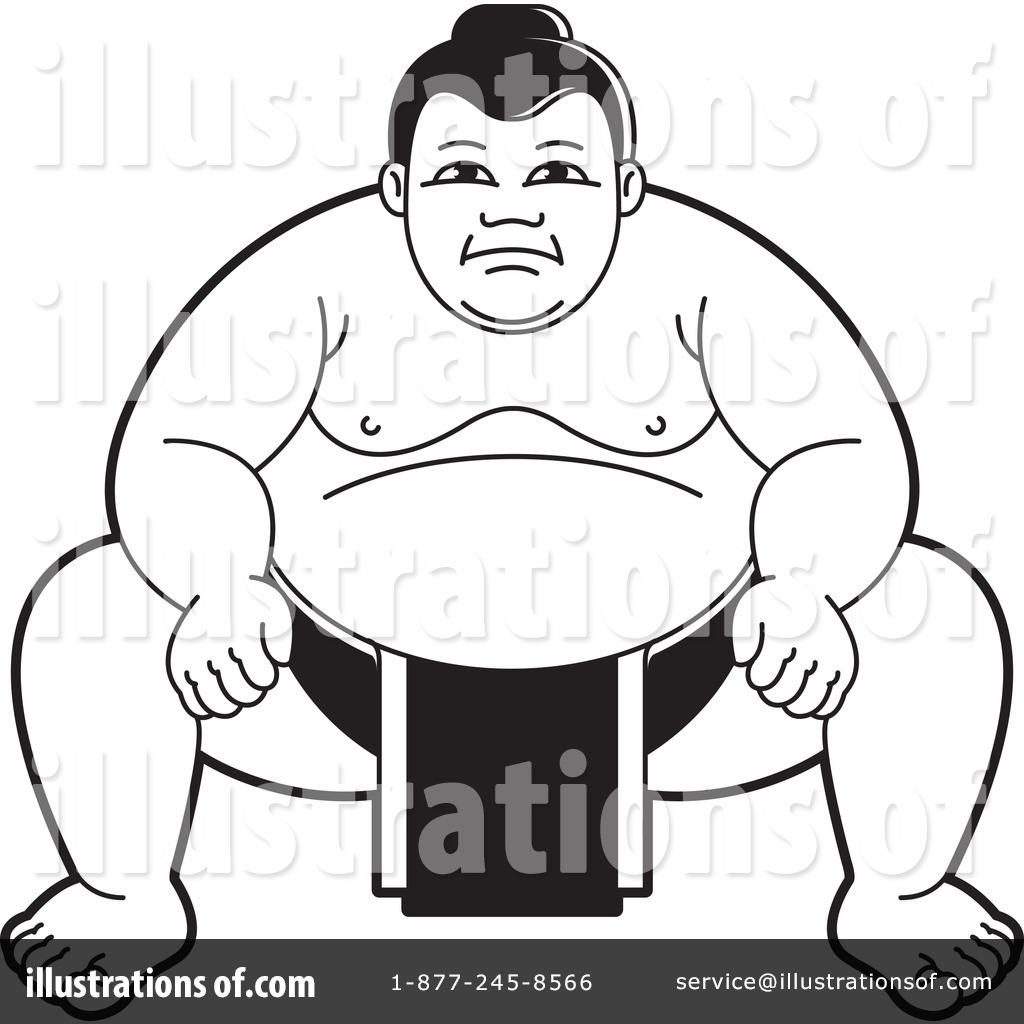 1024x1024 Sumo Wrestling Clipart