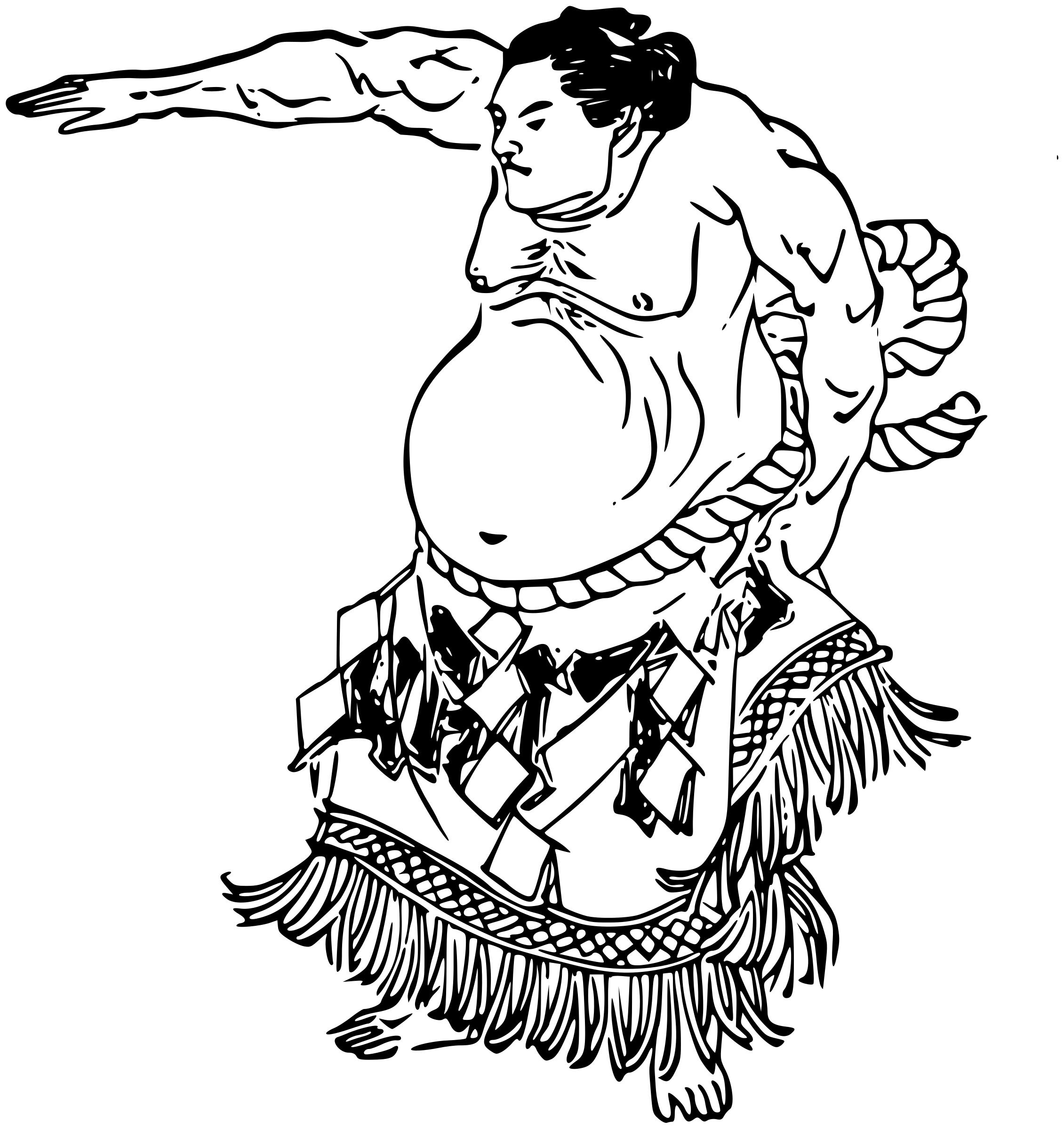 2261x2400 Sumo Wrestler 3 Icons Png