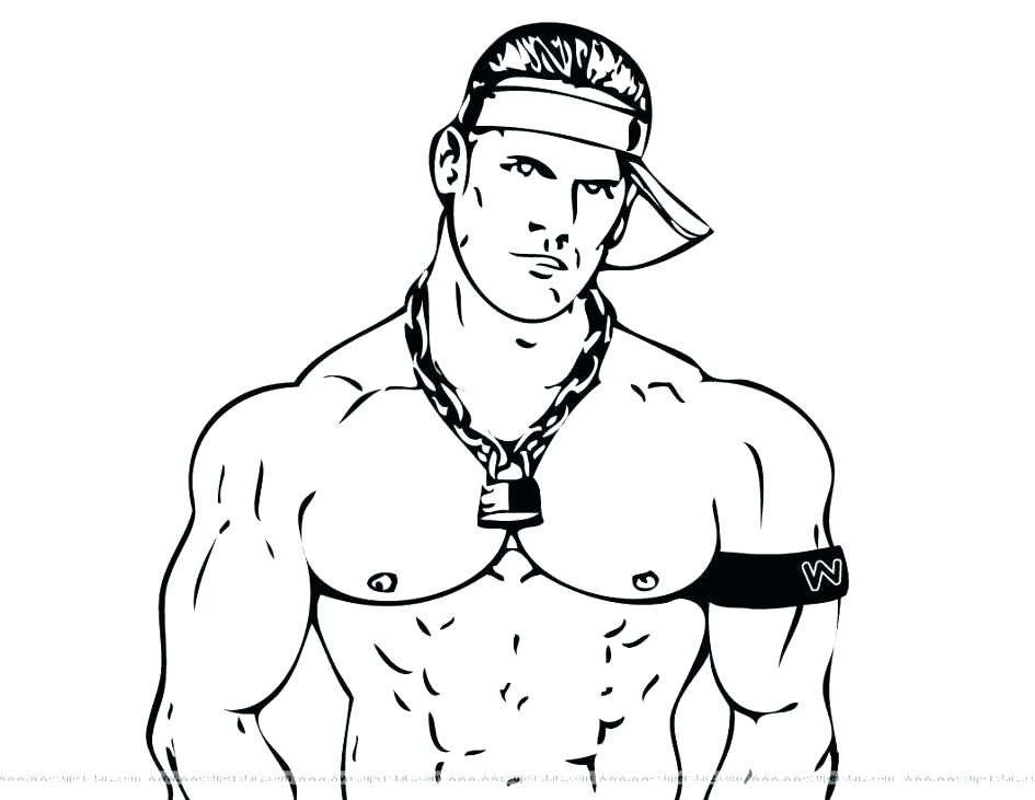 945x731 Wrestler Coloring Pages Wrestling Color Pages Printable Coloring