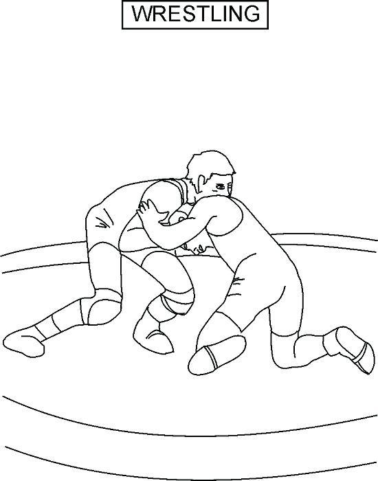 550x700 Wrestling Color Pages Wrestling Coloring Pages Sumo Wrestler