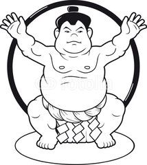 214x240 Free Shipping 1pcslot Sumo Wrestler Face Mask