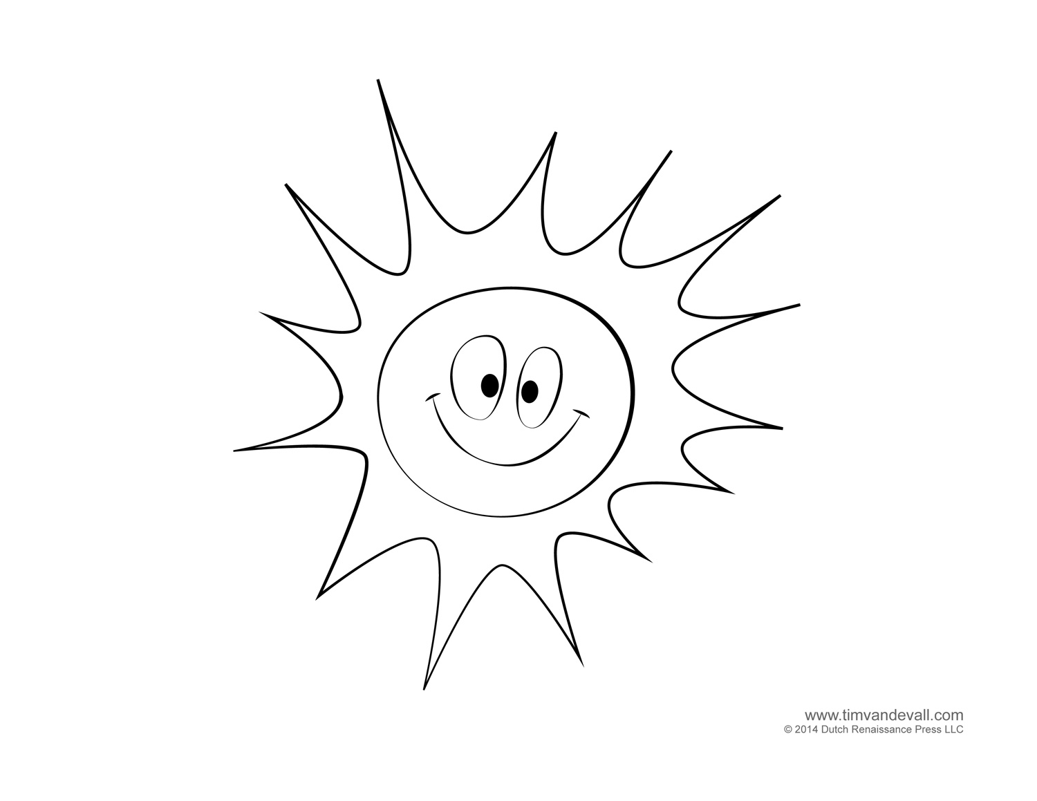 Sun And Clouds Drawing at GetDrawings.com | Free for personal use ...