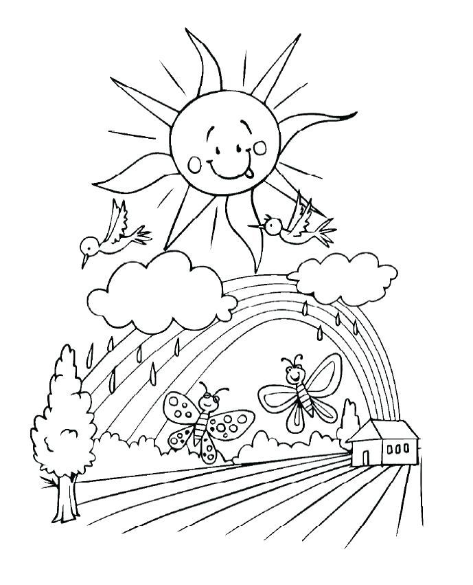689x851 Coloring Pages Of Clouds Cloud Coloring Pages Angry Cloud