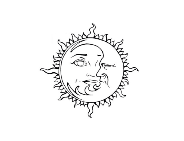 Sun And Moon Drawing Tumblr At Getdrawings Com Free For Personal