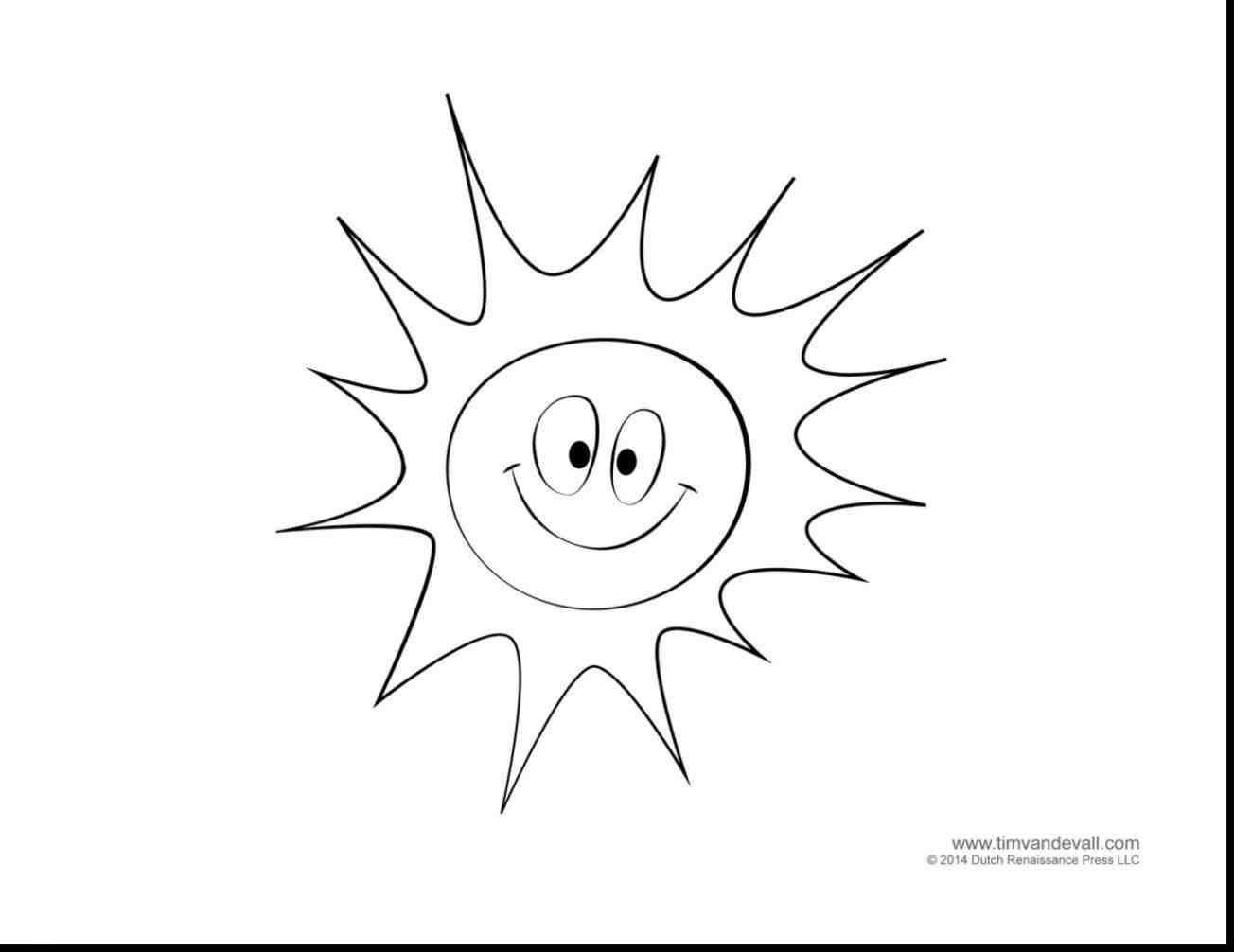 1304x1006 Sun Coloring Pages. Sun Colouring Page With Sun Coloring Pages