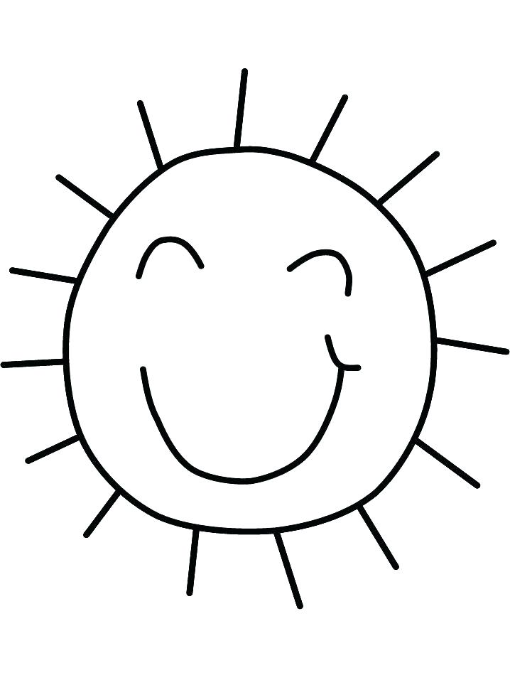 718x957 Coloring Pages Of The Sun Detail Colouring In Cartoon Sun Sunday