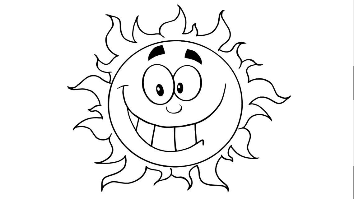 1138x640 How To Draw A Happy Sun