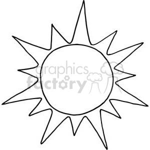 300x300 Royalty Free 2738 Sun Cartoon Character 380271 Vector Clip Art